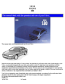 Volvo S80 (1999) Seite 1