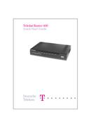 T-Mobile Teledat Router 400 Seite 1