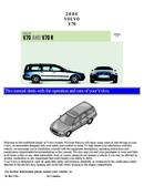 Volvo V70R (2004) Seite 1