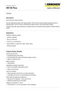 Kärcher WV50 страница 2