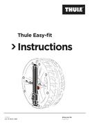 Thule Easy-fit CU-10 Seite 1