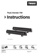 Página 1 do Thule Xtender 739