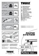 Pagina 1 del Thule kit 1281