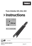 Thule SlideBar 892 sivu 1