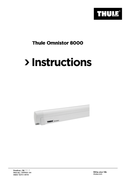 Thule Omnistor 8000 sayfa 1