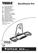 Página 1 do Thule EuroClassic Pro 902