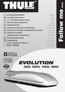 Página 1 do Thule Evolution 700