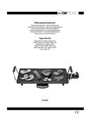 Clatronic TYG 3027 side 1