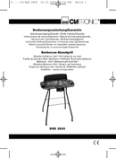 Clatronic BQS 2850 side 1