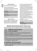 Página 4 do Clatronic BQS 3508