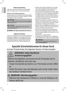 Página 4 do Clatronic BQ 3507