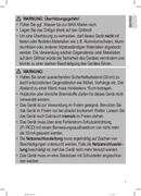 Página 5 do Clatronic BQ 3507