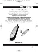 Página 1 do Clatronic HSM 2659 NE