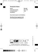 Clatronic KSW 2669 side 1