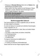 Página 3 do Clatronic KB 3538