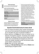Página 2 do Clatronic KB 3537