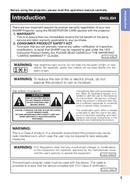 Página 5 do Sharp PG-D3010X