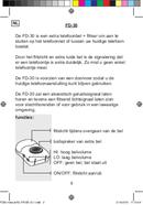 Pagina 2 del Fysic FD-30