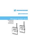 Página 1 do Sennheiser Mikroport System 2015