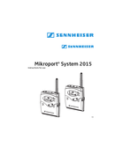 Página 3 do Sennheiser Mikroport System 2015