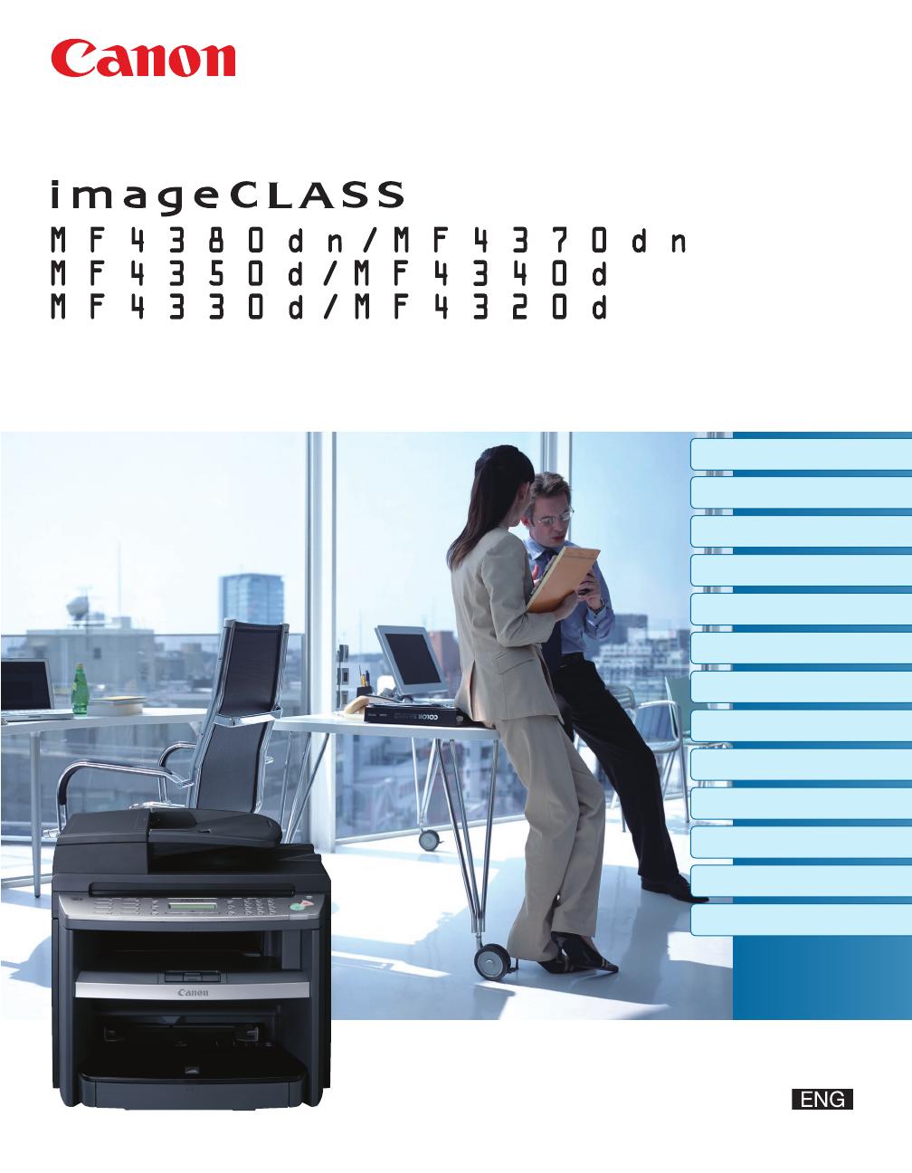 Canon imageclass mf4350d manual.