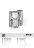 Pagina 1 del Bosch TKA 6621