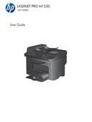 HP LaserJet Pro M1536DNF side 1