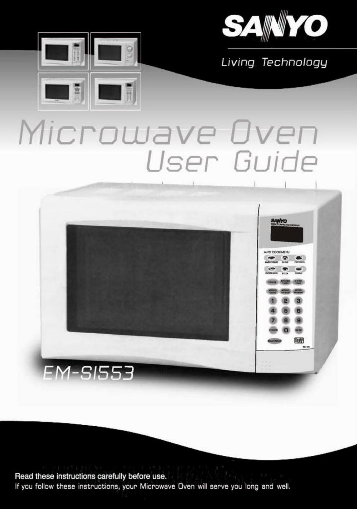 Sanyo Em S1553 Manual