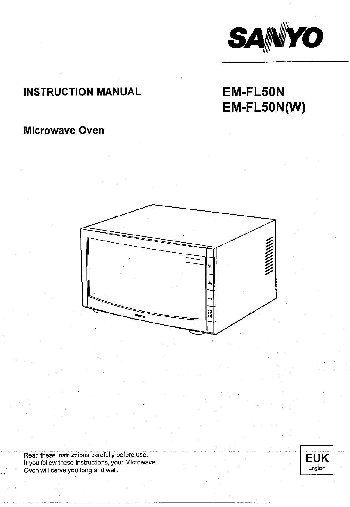 Sanyo Em Fl50n Manual