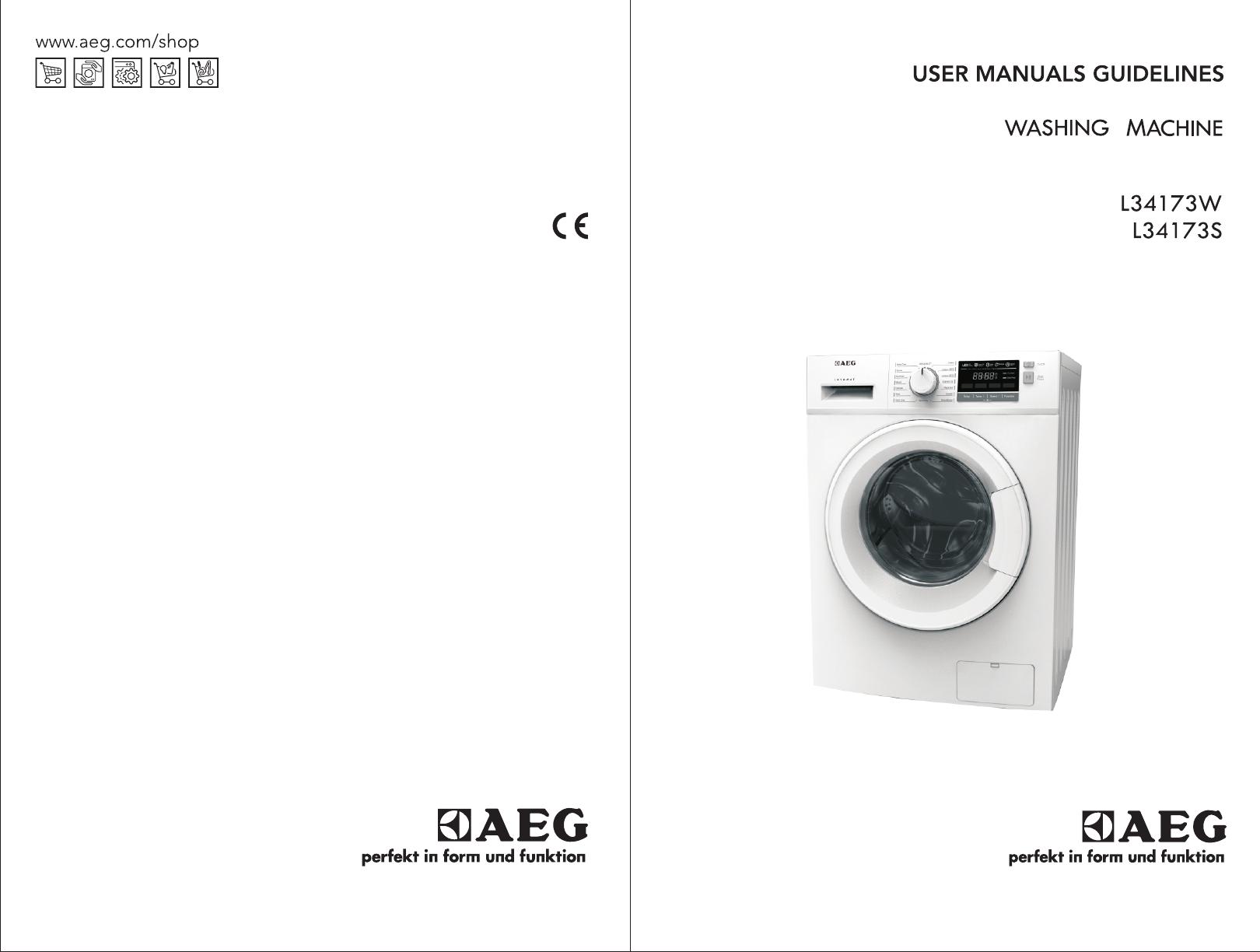 AEG L40W manual