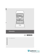 Bosch SMS40E32 page 1