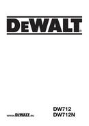 DeWalt DW712 page 1