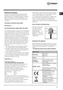 Indesit FM 906 T side 3