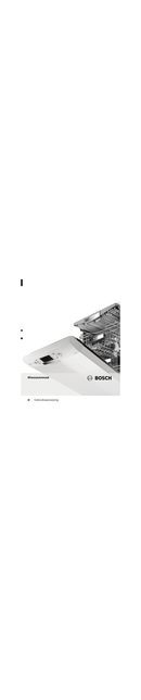 Bosch SMS53N72EU pagina 1