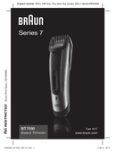 Braun BT7050 side 1