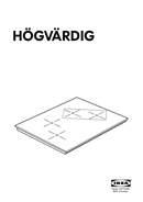 Ikea HÖGVÄRDIG sivu 1