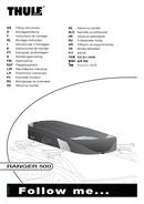 Página 1 do Thule Ranger 500