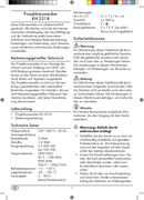 Página 4 do SilverCrest KH 2218