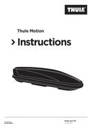 Página 1 do Thule Motion XXL