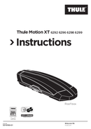 Página 1 do Thule Motion XT XL