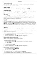 Página 4 do Doro AUB 200