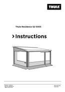 Página 1 do Thule Residence G2 5003