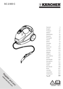 Kärcher SC2500C страница 1