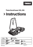Página 1 do Thule Europower 915
