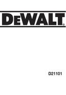 DeWalt D21101 pagina 1