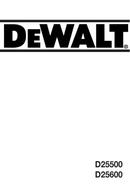 DeWalt D25500 pagina 1