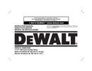 DeWalt DWE575 page 1