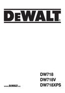 DeWalt DW718XPS page 1