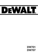 DeWalt DW707 page 1