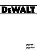 DeWalt DW701 page 1